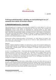 Forbrugerombudsmandens vejledning om markedsføringslovens § 6
