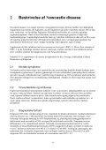 Newcastle disease beredskabsplan 2008 - Fødevarestyrelsen - Page 6