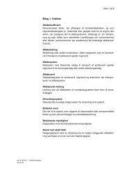 Bilag 1. Ordliste - Albertslund Forsyning