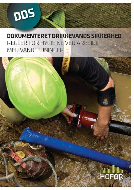 regler for hygiejne ved arbejde med vandledninger - hofor