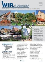 WIR. Das Genossenschaftsblatt aus Mitteldeutschland