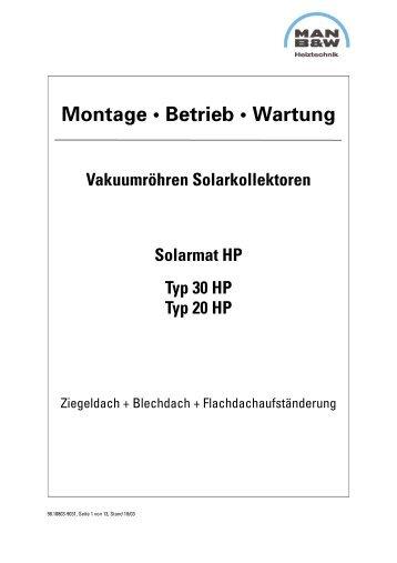 Montage • Betrieb • Wartung - MHG (Schweiz)