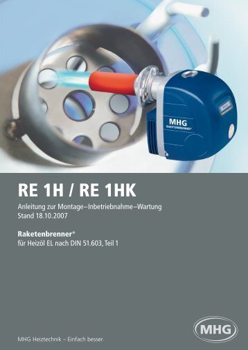 RE 1H / RE 1HK - MHG (Schweiz)