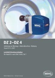 5. Technische Daten - MHG (Schweiz)