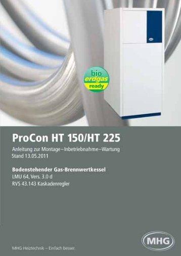 ProCon HT 150/HT 225 - MHG (Schweiz)