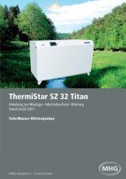 ThermiStar SZ .. - MHG (Schweiz)