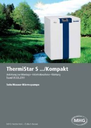 ThermiStar S…/Kompakt - MHG (Schweiz)