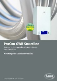 ProCon GWB Smartline - MHG (Schweiz)