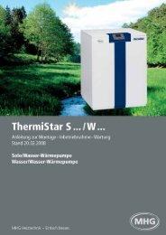 ThermiStar S … / W … - MHG (Schweiz)