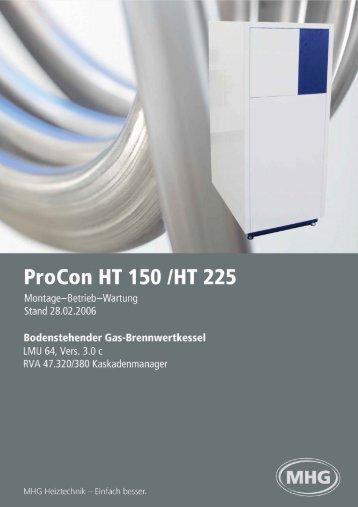 ProCon Streamline - MHG (Schweiz)
