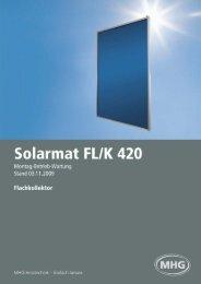 Solarmat FL/K 420 - MHG (Schweiz)