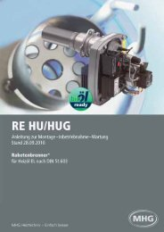 RE HU/HUG - MHG (Schweiz)