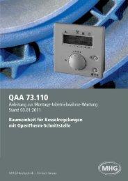 QAA 73.110 - MHG (Schweiz)