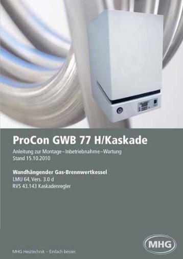 Anleitungen zur Montage - MHG (Schweiz)