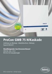ProCon GWB 75 H/Kaskade - Mhg