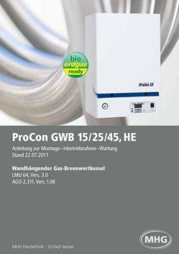 ProCon GWB 15-45, HE - MHG (Schweiz)