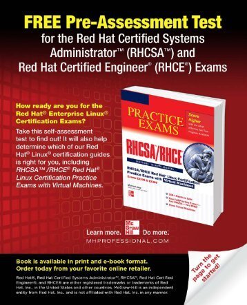 Free Pre-Test with Answers - McGraw-Hill Professional