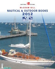 Nautical & OutdOOr BOOks - McGraw-Hill Professional