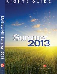 Summer 2013 - McGraw-Hill Professional