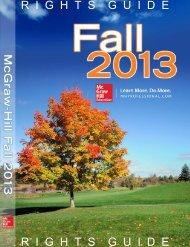 Fall 2013 - McGraw-Hill Professional