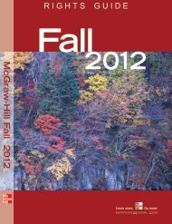 Fall 2012 catalog mcGraw-Hill - McGraw-Hill Professional