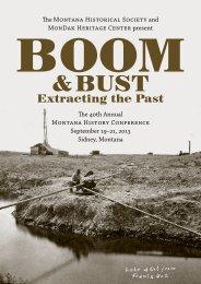 Brochure - Montana Historical Society