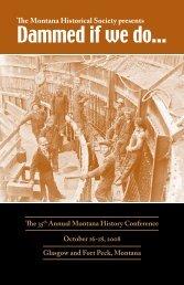 Dammed if we do… - Montana Historical Society
