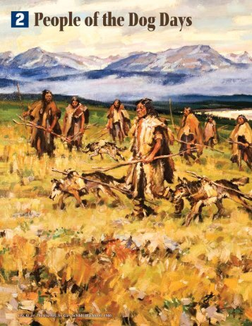 The Journey, by Gary Schildt (Blackfeet) - Montana Historical Society