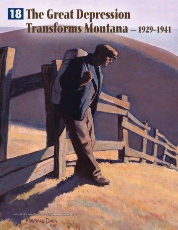 No Place To Go, by Maynard Dixon, 1935 - Montana Historical Society