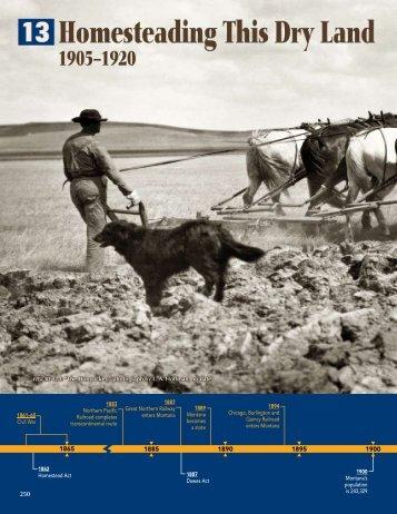 Chapter 13 - Montana Historical Society
