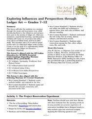 Grades 7–12 - Montana Historical Society