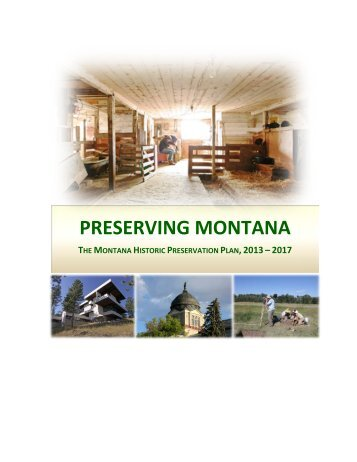 Historic Preservation - Montana Historical Society
