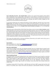 PRESS RELEASE - Mercedes-Benz Fashion Week