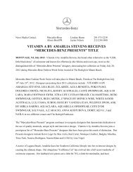 vitamin a by amahlia stevens receives - Mercedes-Benz Fashion Week