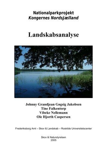 Landskabsanalyse - Nationalparker