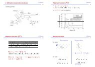 2. Diffraction at periodic structures Patterson function Patterson ...