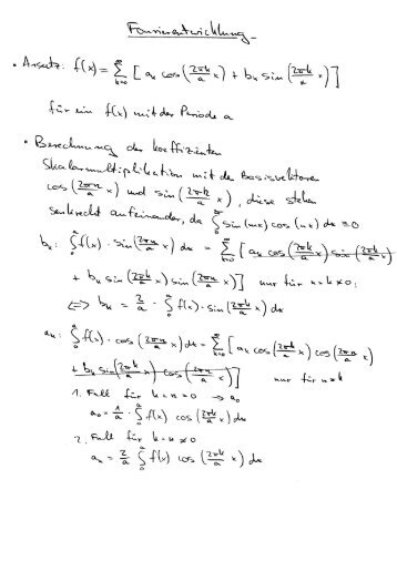 Lecture Notes Advanced Mechanics / Electrodynamics - of michael ...