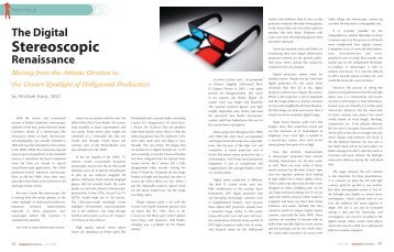 The Digital Stereoscopic - Michael Karp