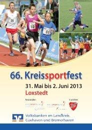 Festheft - Kreissportbund Cuxhaven