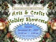 2 nd Annual Arts & Crafts Showcase - Microlab