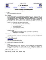 Contact Angle Measurement System (kruss) - Berkeley Microlab