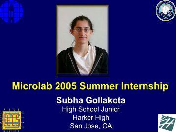Subha Gollakota - Berkeley Microlab