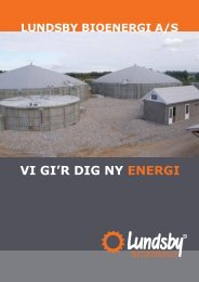 VI GI'R DIG NY ENERGI - Lundsby Industri og Bioenergi A/S