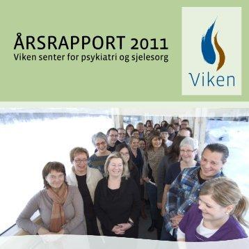 Årsrapport 2011 (3,5mb) - Viken - senter for psykiatri og sjelesorg