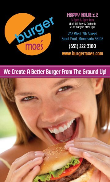 We Create A Better Burger From The Ground Up! - Midwestmenus.com