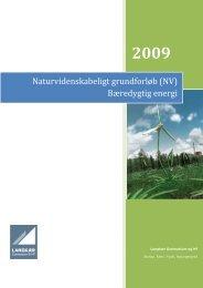 (NV) Bæredygtig energi - Sol i undervisningen