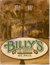 billi's salads - Midwestmenus.com