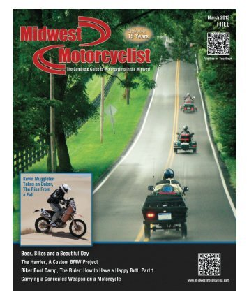 March 2013 - Midwest Motorcyclist