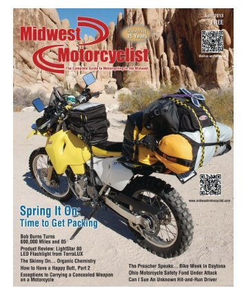 April 2013 - Midwest Motorcyclist