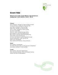 Møde 9. juni - Lejre Kommune